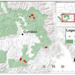 geospatial map around Gunnison, CO